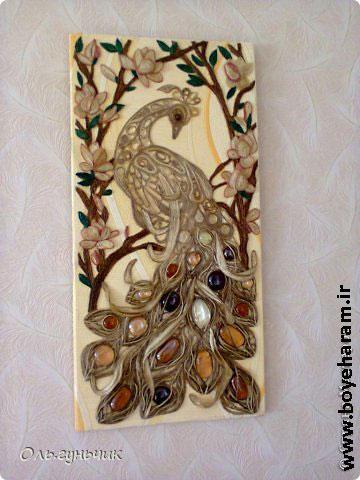 آموزش ساخت عروسک طاووس