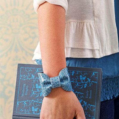آموزش ساخت دستبند چرمي,ساخت دستبند,ساخت دستبند با لوازم چرمي,آموزش ساخت دستبند با چرم دور ريختني,