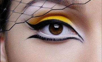 خط چشم,کشیدن خط چشم,رسم خط چشم,آرایش چشم
