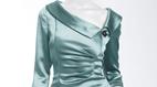 آموزش دوخت پیراهن مجلسی زنانه یقه ارشال