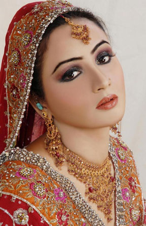آرایش صورت هندی