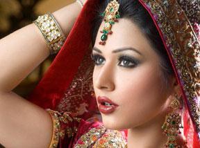 تصاویر آرایش هندی