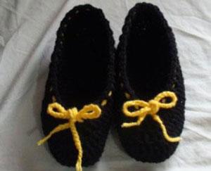 آموزش بافت جوراب روفرشی11 آموزش بافت جوراب روفرشی یا پاپوش
