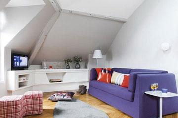 دکوراسیون رنگی,مدل اتاق های رنگی,اتاق های رنگی