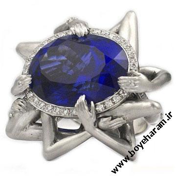 انگشتر زنانه الماس