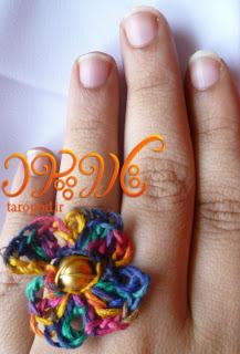 روش بافت یک انگشتر گل زیبا,انگشتر گل,ساخت انگشتر گل,آموزش بافت انگشتر,انگشتر قلاب بافی,سایت انگشتر زیبا با استفاده از بافت,مدل های ساخته شده با قلاب بافی,آموزش ساخت انواع انگشتر,انگشتر گل زنانه,آموزش انگشتر گل زنانه,