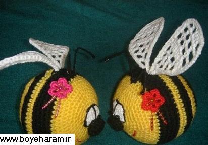 بافت زنبور,آموزش زنبور بافی,بافت زنبور با کاموا,بافت عروسک با کاموا,آموزش عروسک بافی,بافتنی عروسکی,مدل های عروسک بافتنی,آموزش بافت عروسک با کاموا,عروسک های قلاب بافی,ساخت عروسک با کاموا,ساخت عروسک با دومیل