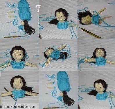 بافت عروسک,آموزش بافت عروسک,عروسک بافی,آموزش عروسک بافی,بافت عروسک با کاموا,آموزش ساخت عروسک کاموایی,ساخت عروسک کاموایی,بافت عروسک با دومیل,آموزش عروسک بافی با میل,آموزش ساخت عروسک با نخ,دوخت عروسک با نخ,بافت عروسک دختر,ساخت عروسک دختر,دوخت عروسک دختر
