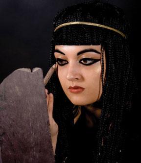 آرایش مصری,آرایش در مصر,آرایش قدیمی