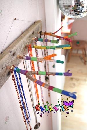 تزیین اتاق دختر نوجوان,تزیین اتاق نوجوان,تزیین زیورآلات دخترانه,جاجواهراتی با چوب خشک,خلاقیت با چوب خشک,رنگ امیزی چوب خشک با آبرنگ,ساخت جای جواهرات,چوب,چوب خشک,کاردستی با چوب,کاردستی با چوب خشک,کاردستی برای نوجوان,کاردستی نوجوانی | بخش: زیورآلات و تزیینات دخترانه,ویژه نوجوانها,