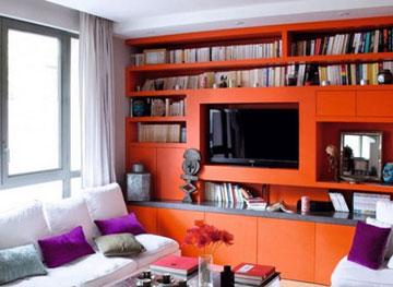 مدل اتاق,مدل اتاق قرمز,اتاق رنگی