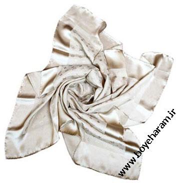 روسری حاشیه دار,مدل روسری حاشیه دار