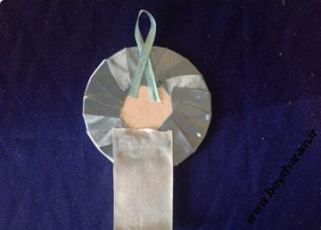 کاردستی روبانی,ساخت لوازم با روبان