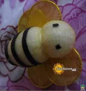 ساخت عروسك,آموزش ساخت عروسك,ساخت عروسك زنبور,عروسك زنبور,عروسك زنبورطلايي,زنبور,ساخت زنبور,عروسك سازي,آموزش عروسك سازي,