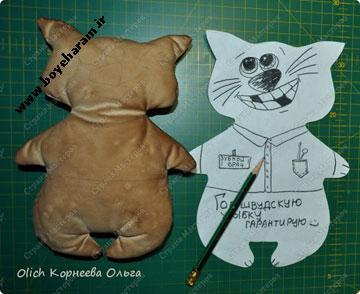 آموزش عروسک بچه گانه
