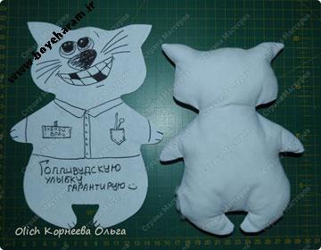 ساخت عروسک گربه با پارچه