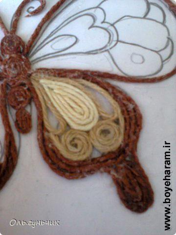 ساخت کاردستی پروانه