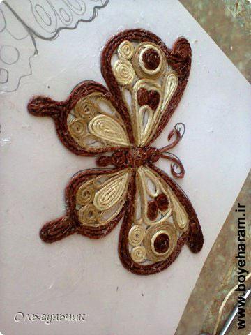 پروانه سازی با بافت