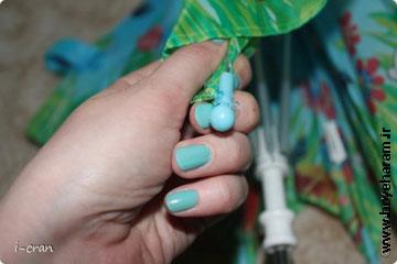 ساخت چتر زیبا