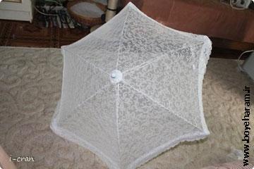 آموزش ساخت چتر عروس