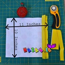 ساخت جعبه عروسکی با پارچه (2)