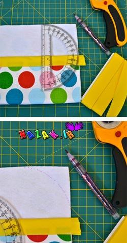 ساخت جعبه عروسکی با پارچه (3)