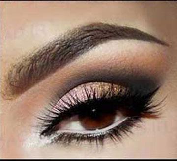 آموزش خودآرایی,مدل آرایش چشم,آموزش آرایش چشمها,ارایش چشم,آموزش آرایش صورت,چشم