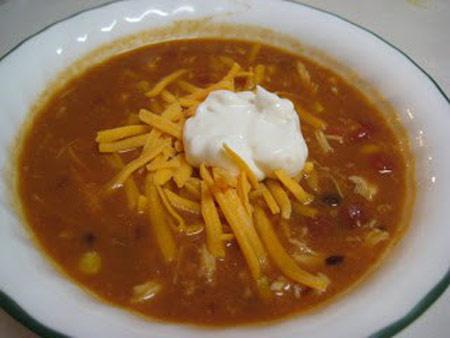 طرز تهیه سوپ مرغ با چیپس تورتیلا,طرز پخت سوپ مرغ
