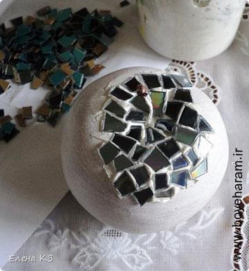 کاردستی تزئینی با شیشه,ساخت کاردستی با شیشه