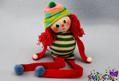 آموزش ساخت عروسک فانتزی دست و پا دراز