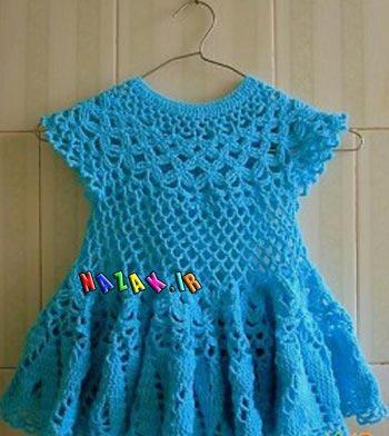 لباس-بافتنی-دخترانه-(11)