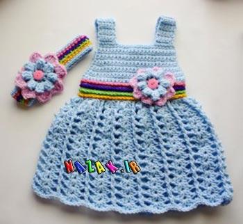 لباس-بافتنی-دخترانه-(17)