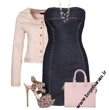 مدل لباس مشکی زنانه,ست لباس مشکی زنانه