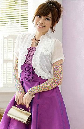 لباس مجلسی صورتی94