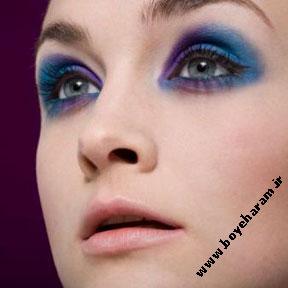 مدل آرایش آبی دریایی