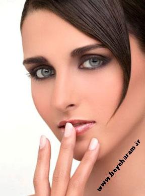 مدل آرایش دودی خاکستری