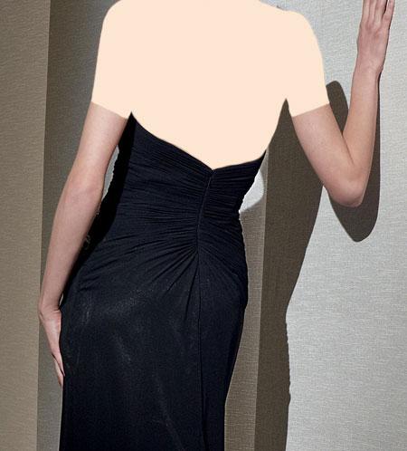 مدل لباس شب مشکی 2015,مدل لباس شب مشکی