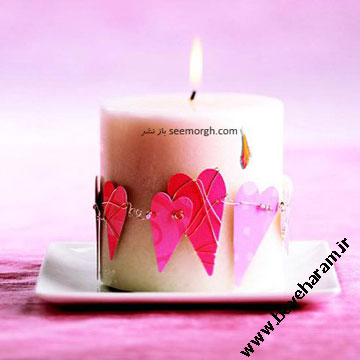شمع عشق ولنتاین