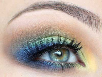 زيباترين آرايش هاي چشم طاووسي