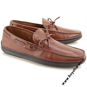 کفش چرم پسرانه