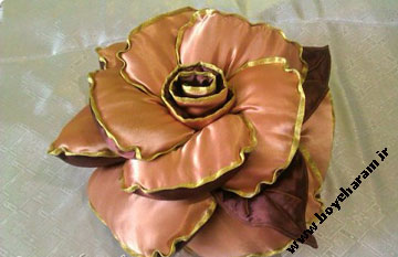 کوسن به شکل گل,رومبلی به شکل گل