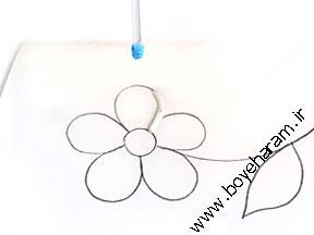 آموزش ساخت کاردستی گل