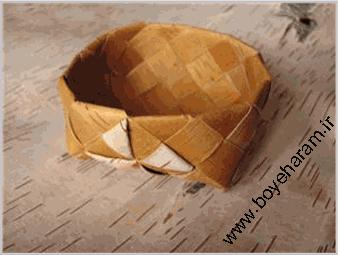ساخت جعبه با حصیر,آموزش حصیر بافی,ساخت قوطی حصیری