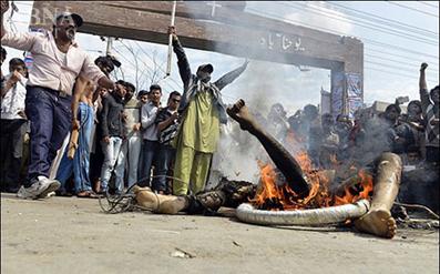 متهمان انفجار در کلیسای پاکستان