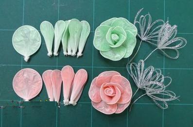 ساخت گل رز (5)
