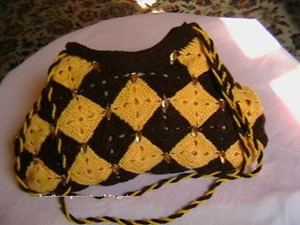 بافت کیف,کیف بافی,آموزش بافت کیف زنانه