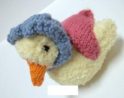 بافت عروسک اردک