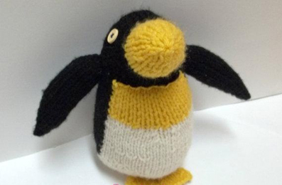 بافت عروسک پنگوئن