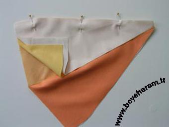 Sewing balloon or bubble cushion,دوخت کوسن بالونی,دوخت کوسن بادکنکی
