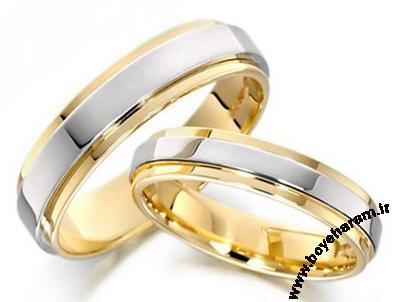 حلقه دوقلوی زنانه و مردانه